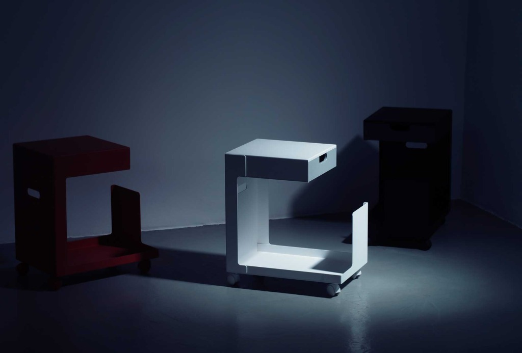 Rollcontainer <em>Ed</em>. Design Daniel Lorch. Photo Gerhardt Kellermann.